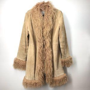 Marvin Richards Vintage Mongolian Sheep Hair Coat